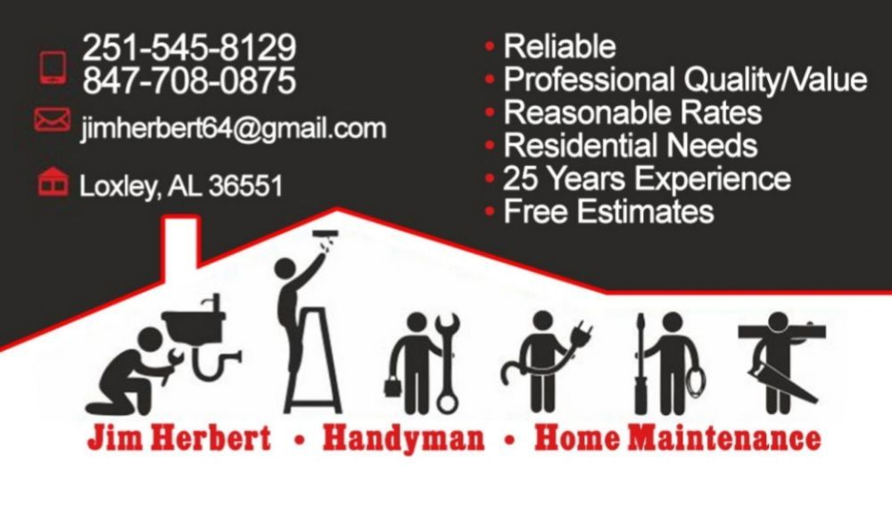 Home Improvement Handyman Maintenance: Loxley Al, Loxley, AL