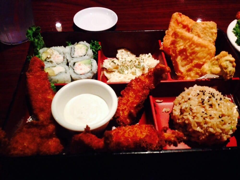 shrimp katsu bento box lunch special yelp. Black Bedroom Furniture Sets. Home Design Ideas
