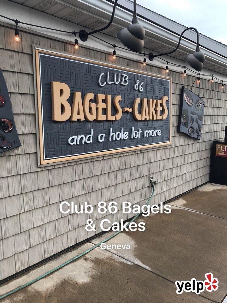 Photo Of Club 86 Bagels Cakes Geneva Ny United States