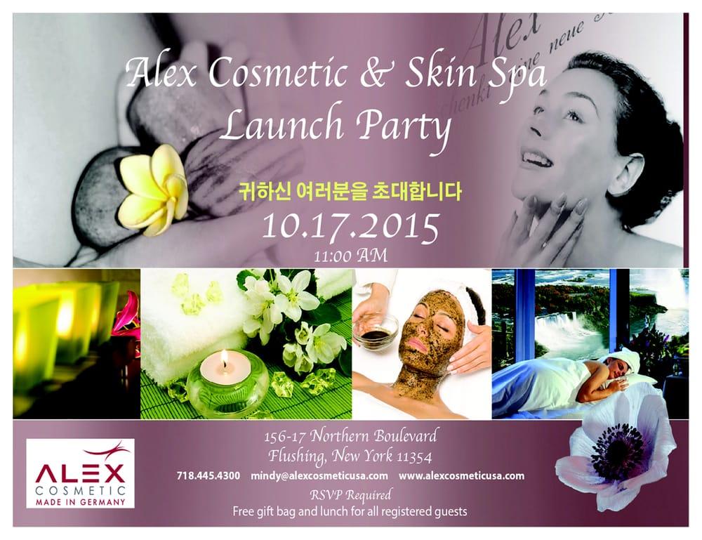 Alex Cosmetic & Skin Spa: 156-17 Northern Blvd, Flushing, NY