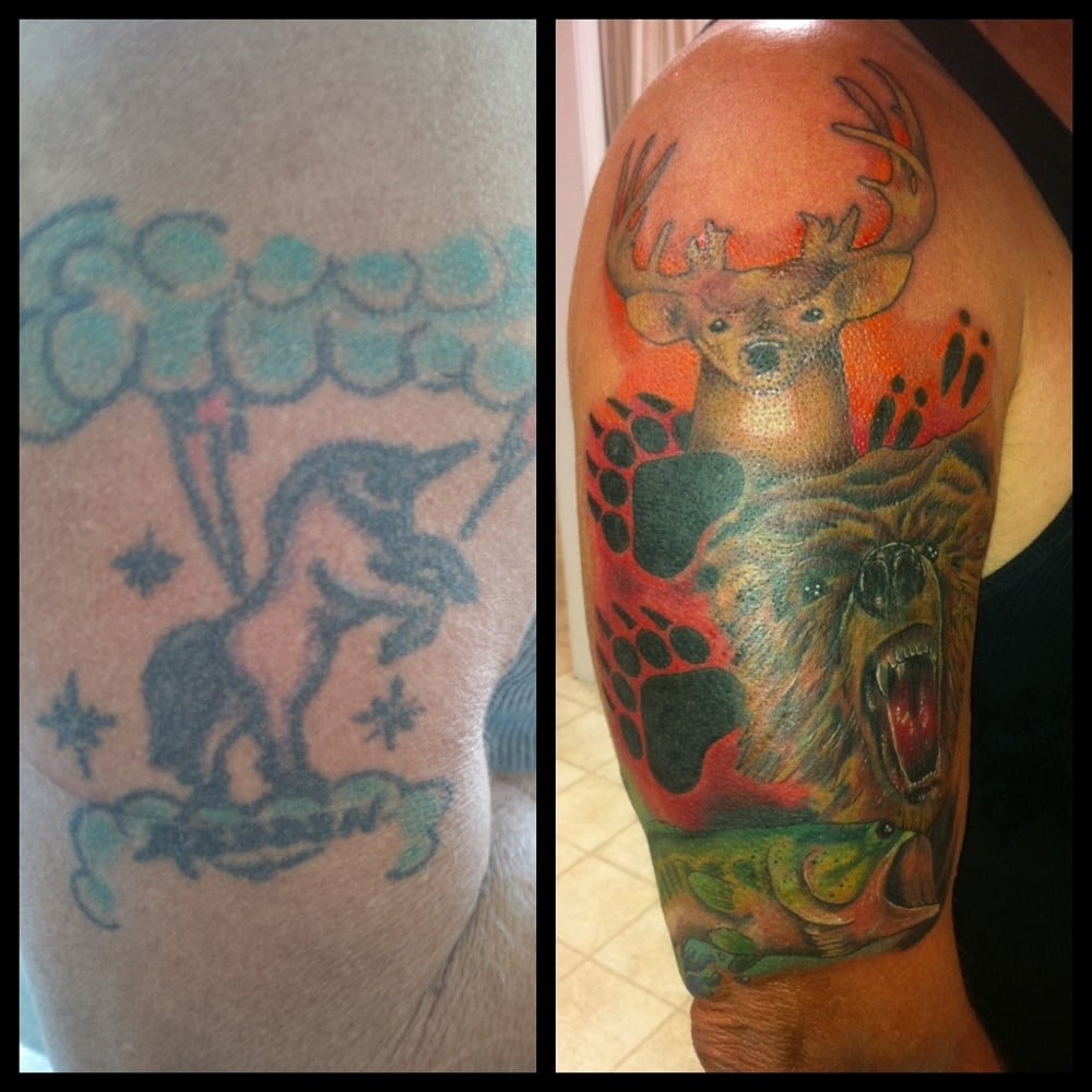 Cover up tattoo by chris tyler yelp for Electric ink tattoo