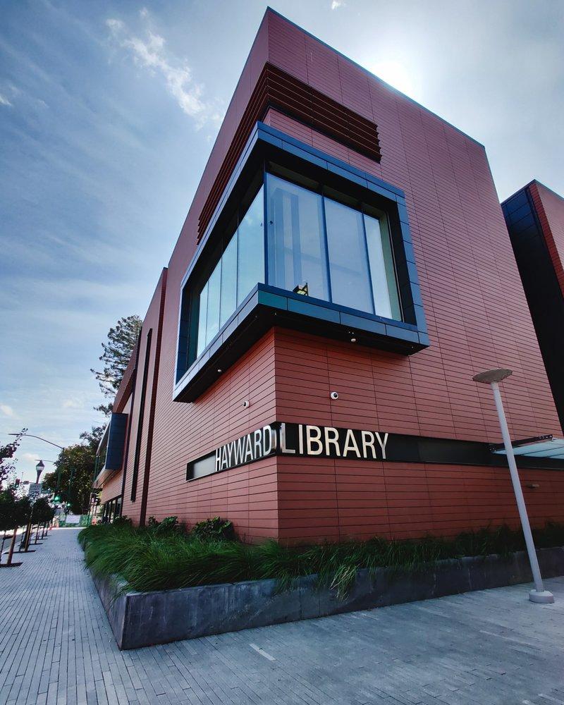 Hayward's 21st Century Library & Community Learning Center: 888 C St, Hayward, CA