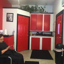 Photo of Red Door Salon - Corning CA United States. The Red Door & Red Door Salon - Cosmetics \u0026 Beauty Supply - 1302 Solano St ...