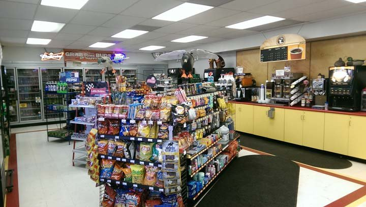Happy's Super Service Convenience Store: 101 E Dakota St, Spring Valley, IL