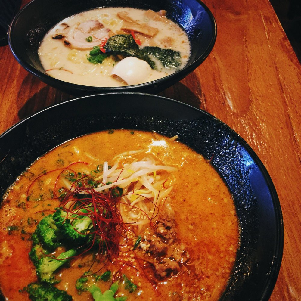 Food from Muto Ramen & Sushi