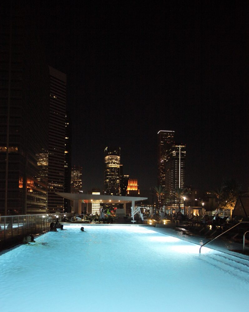 Infinity pool at night during adult only hours Yelp