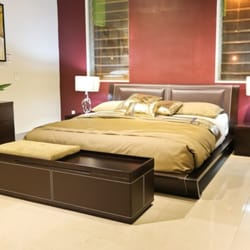 Photo Of Go Modern Miami Fl United States Cannes Leather Bed In