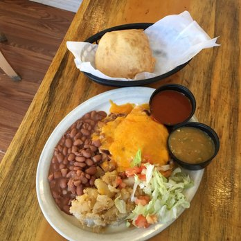 Nice Photo Of El Patio De Albuquerque   Albuquerque, NM, United States. Stuffed  Sopapilla