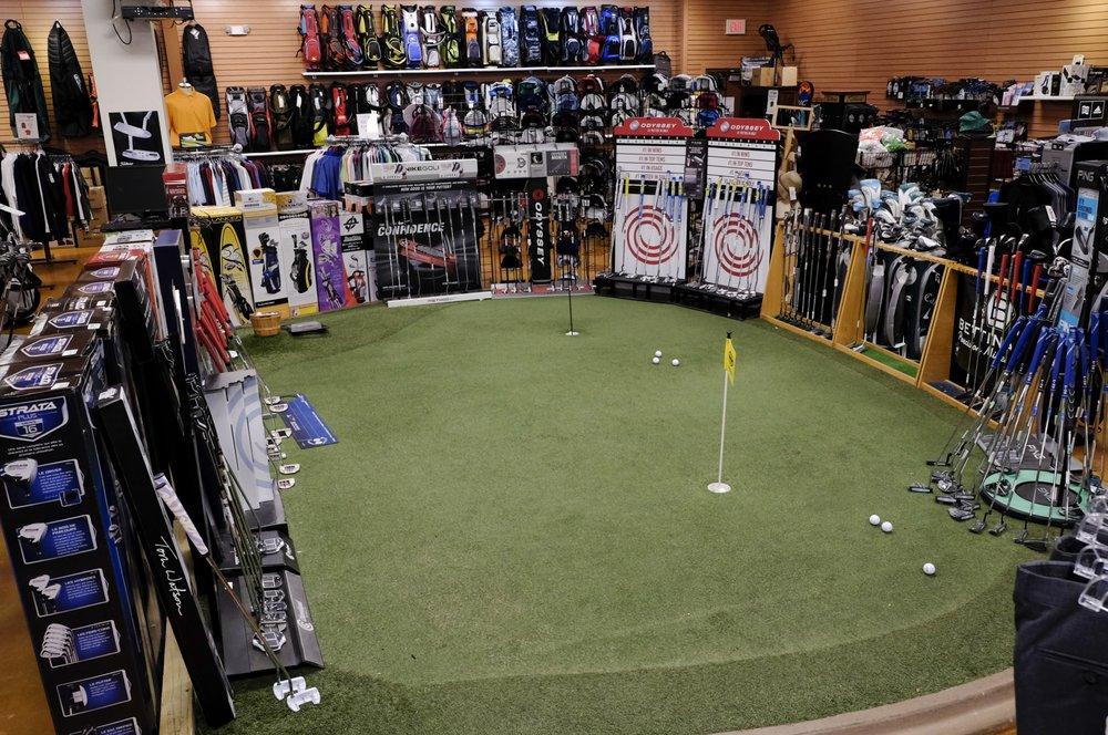 The Golf Warehouse: 8851 E 34th St N, Wichita, KS