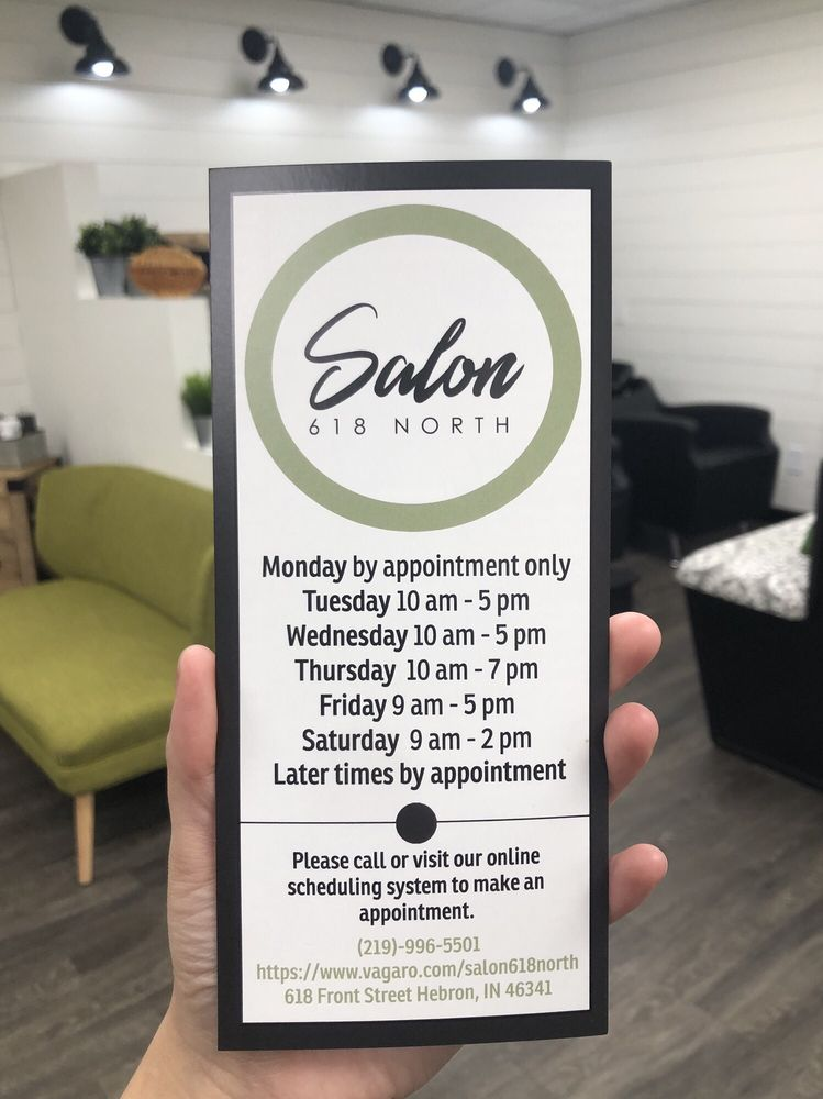 Salon 618 North: 618 N Front St, Hebron, IN