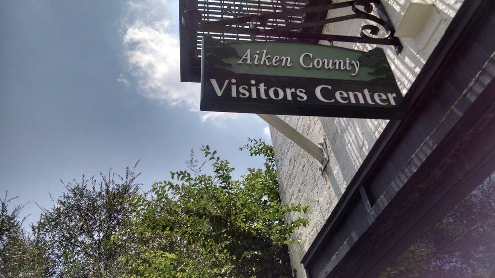 Aiken County Visitors Center: 133 Laurens St NW, Aiken, SC