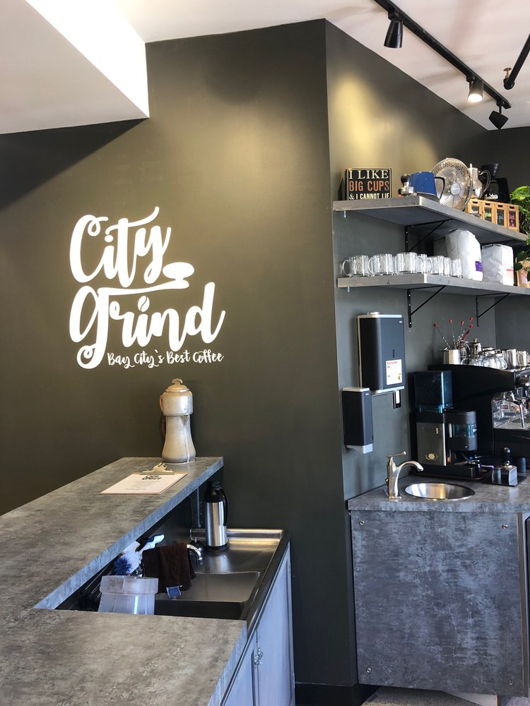City Grind Coffee Shop: 401 Center Ave, Bay City, MI
