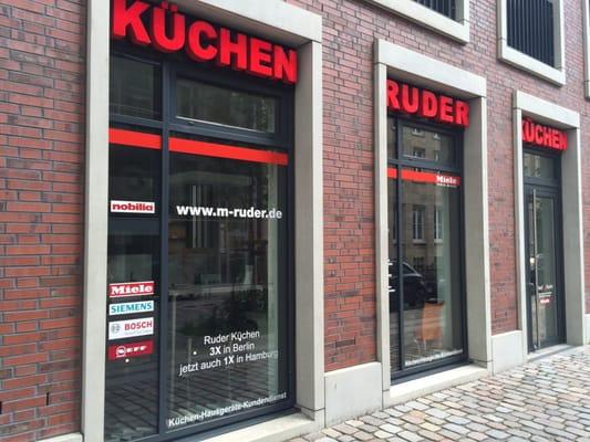 ruder k chen cucine e bagni grimm 1 altstadt amburgo hamburg germania numero di. Black Bedroom Furniture Sets. Home Design Ideas