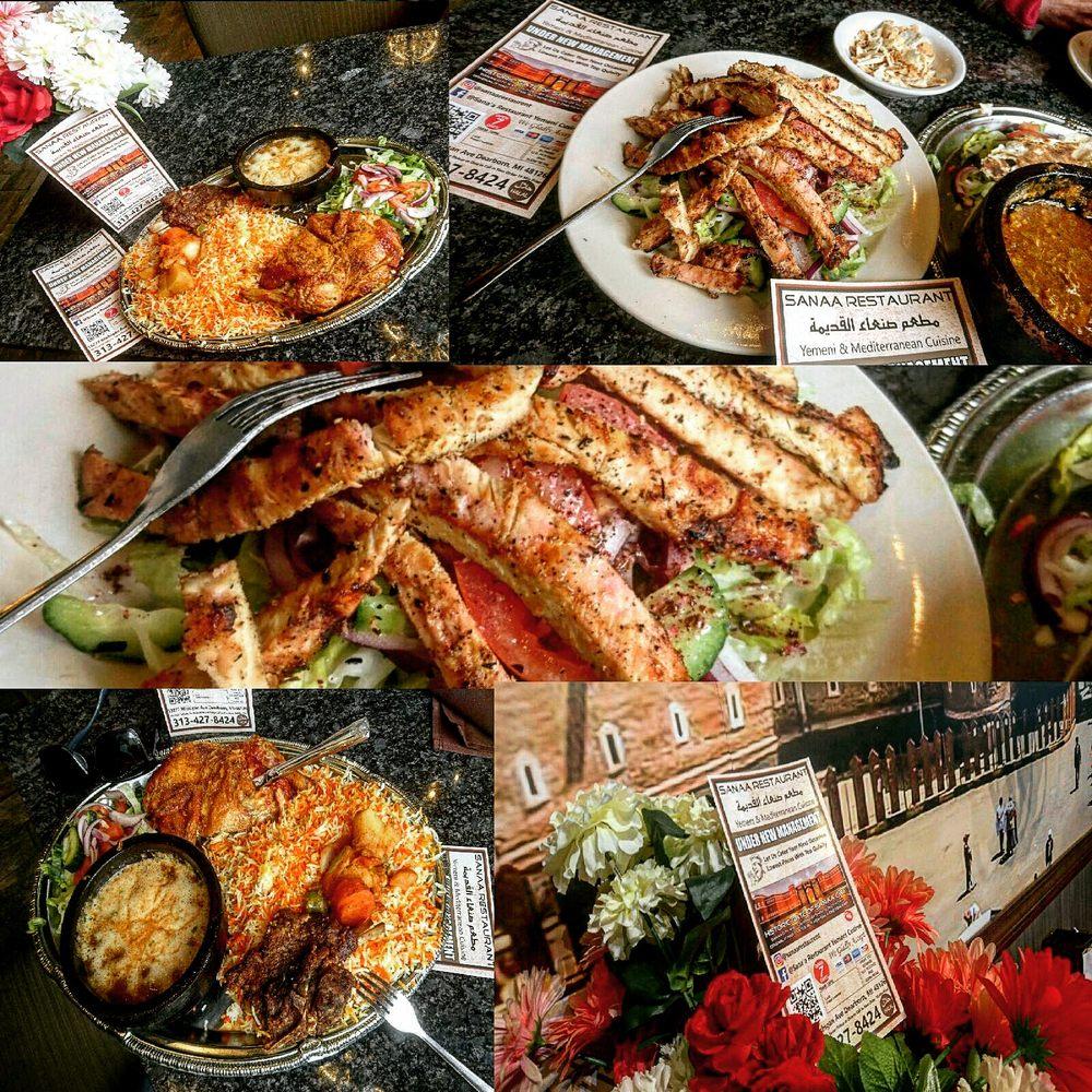 Sana'a Yemeni Cuisine: 13277 Michigan Ave, Dearborn, MI