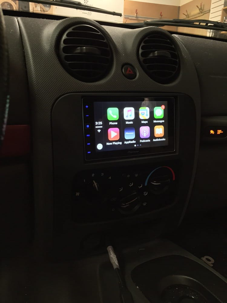 A Double Din Upgrade In Jeep Liberty To Pioneer Apple Carplay Rhyelp: 2005 Jeep Liberty Double Din Radio At Taesk.com