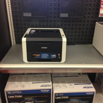 Photo Of Office Depot   Irving, TX, United States. Lonely Printer With No