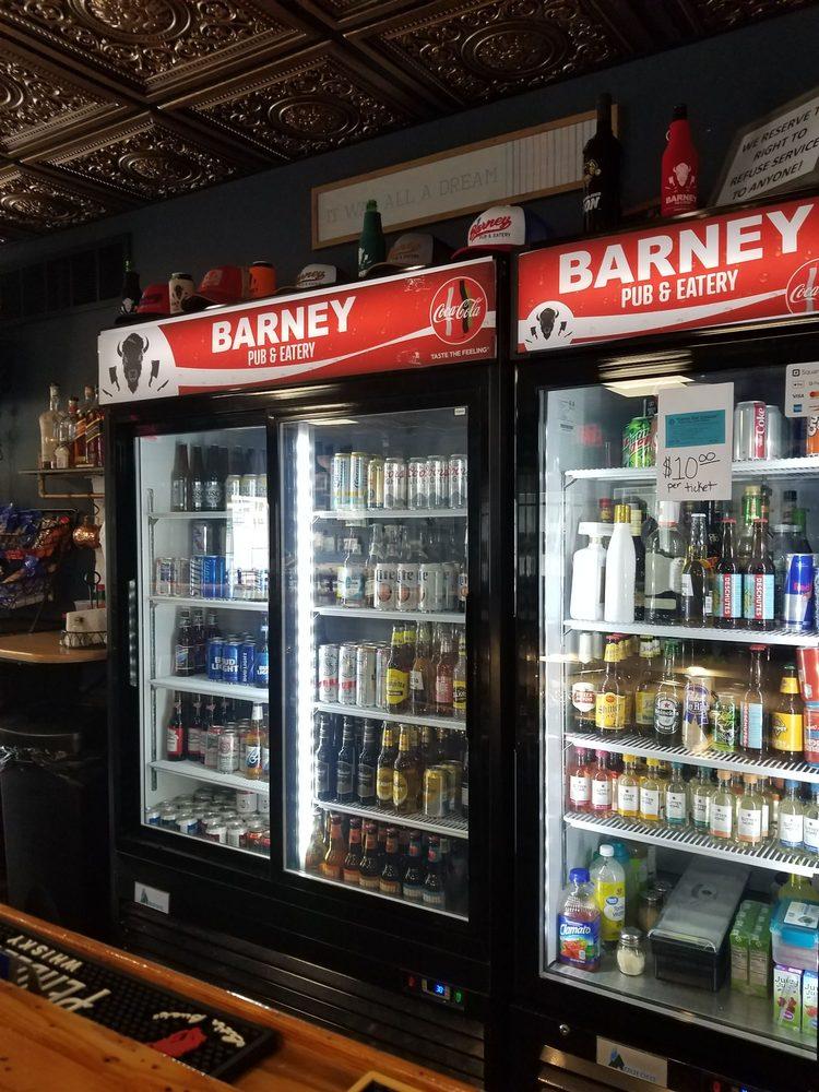 Barney Pub & Eatery: 112 Main St, Barney, ND