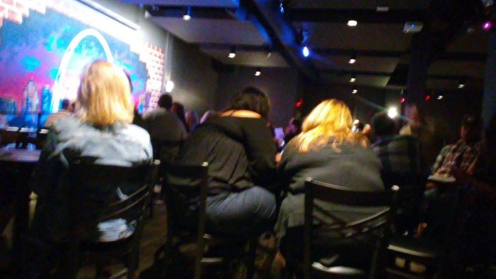 Apparently this is vip seating yelp for Helium comedy club