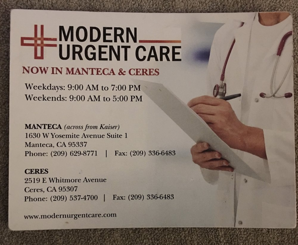Modern Urgent Care: 2519 E Whitmore Ave, Ceres, CA