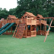 Exceptionnel Custom Redwood Playset Photo Of Backyard Fun Factory   Justin, TX, United  States.