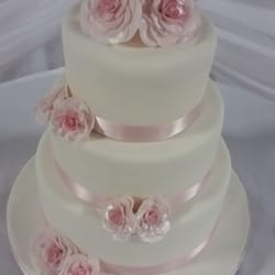 Photo Of Cakes Ever After Acton On Canada Rose Wedding Cake