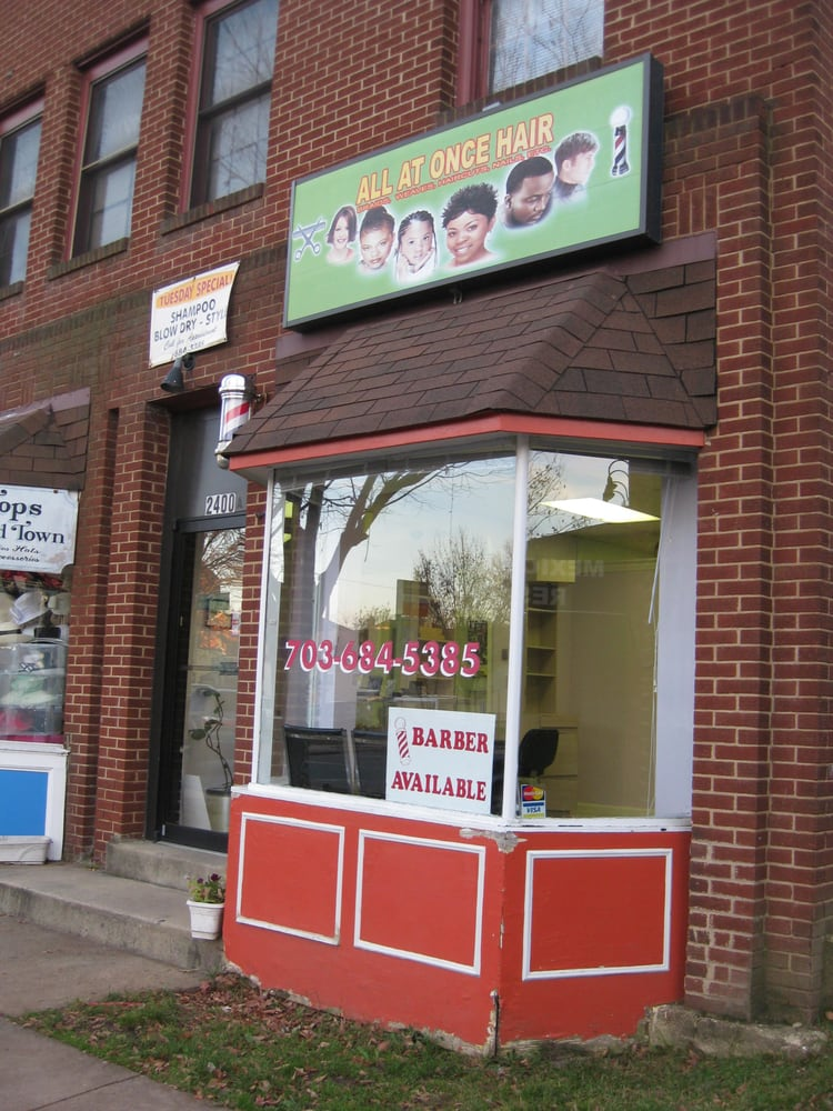 All at once beauty salon hair salons 2400 mount vernon for Vernon salons
