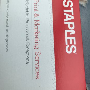 Staples - (New) 29 Photos & 62 Reviews - Printing Services