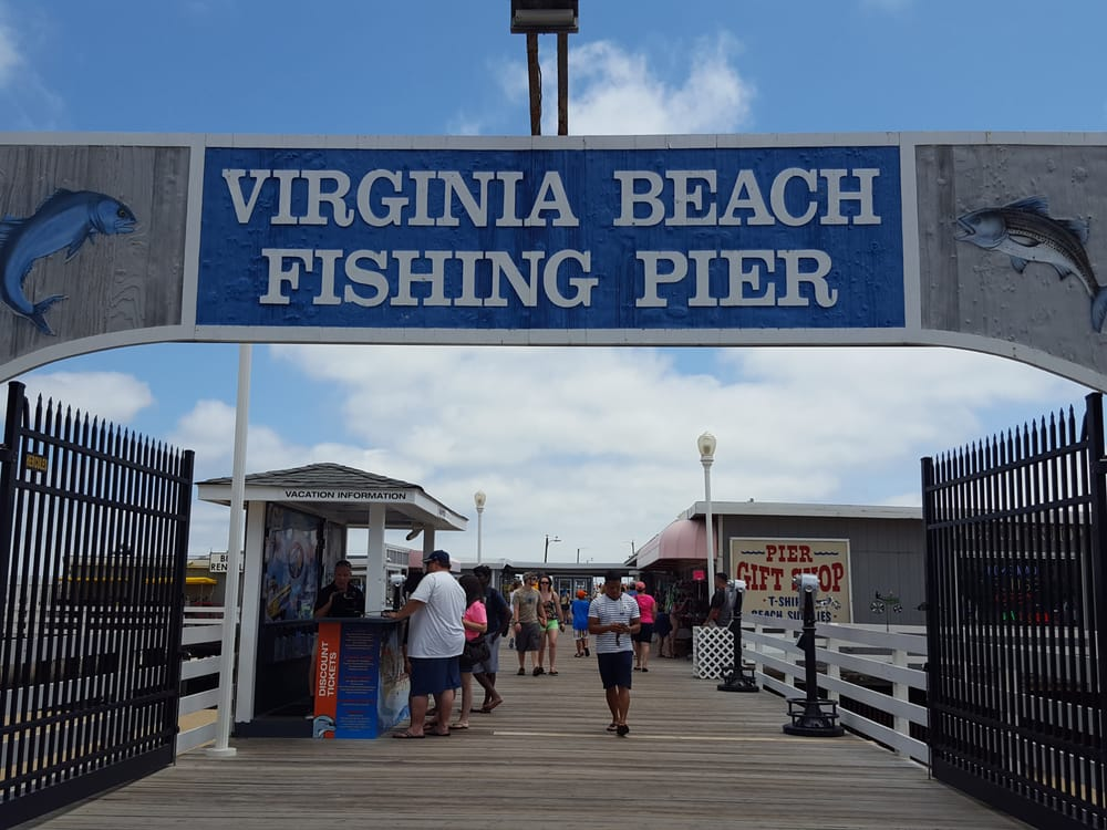 Foton av virginia beach fishing pier yelp for Va beach fishing pier
