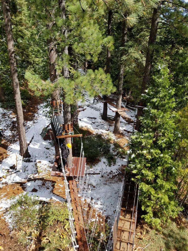 Tahoe Vista Treetop Adventure Park: 6600 Donner Rd, Tahoe Vista, CA