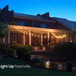 Photo of Light Up Nashville - Goodlettsville TN United States. Patio string lights & Light Up Nashville - Lighting Fixtures u0026 Equipment - 109 East Ave ... azcodes.com