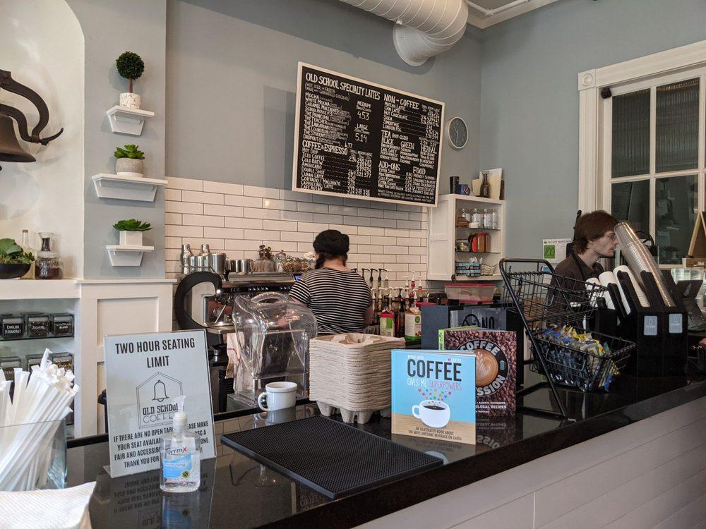 Social Spots from Old School Coffee