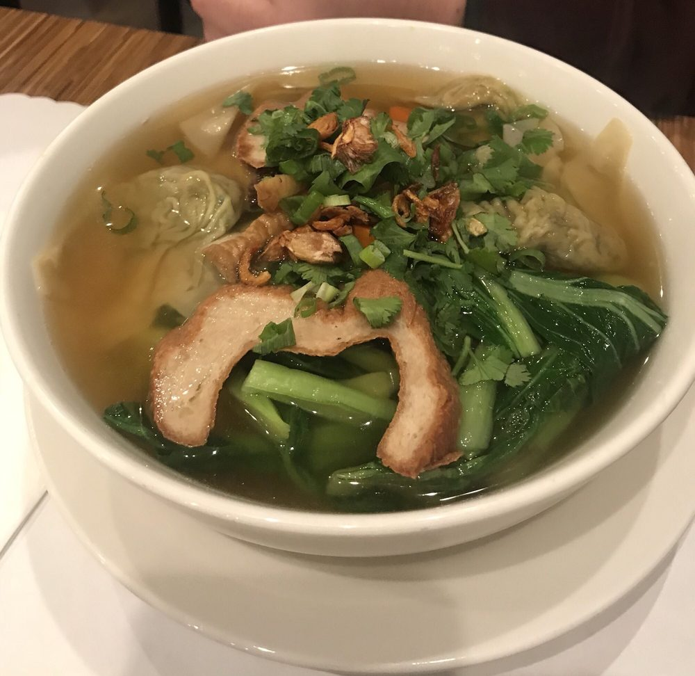 Wonton noodle soup - Yelp
