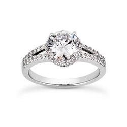 2853db490 Photo of Professional Jewelers - Overland Park, KS, United States. halo engagement  ring