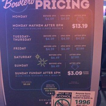 Bowlero coupons