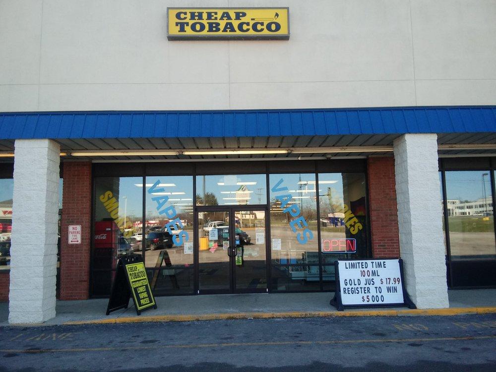 Cheap Tobacco: 1240 N High St, Hillsboro, OH