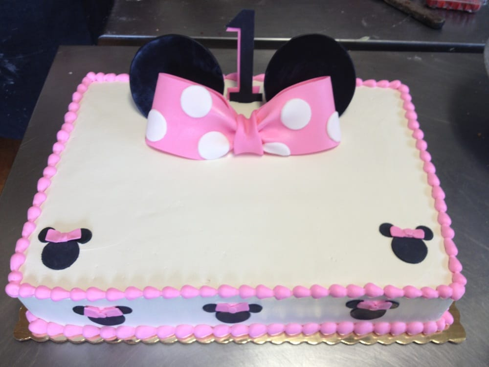Minnie Mouse Cake Yelp