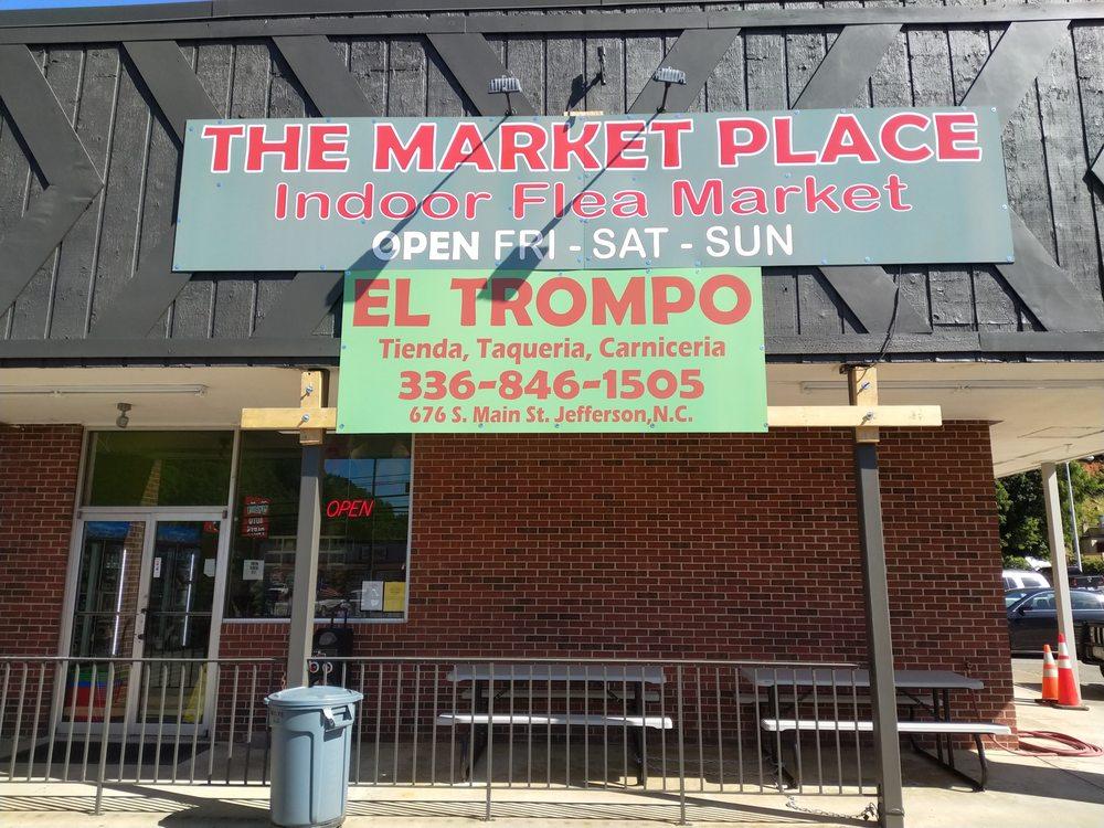 Taqueria El Trompo: 676 South Main St, Jefferson, NC