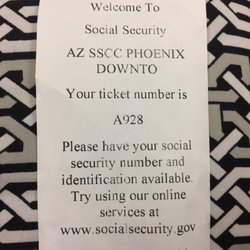 Marvelous Photo Of Social Security   Phoenix, AZ, United States. Thought Coming Early  As