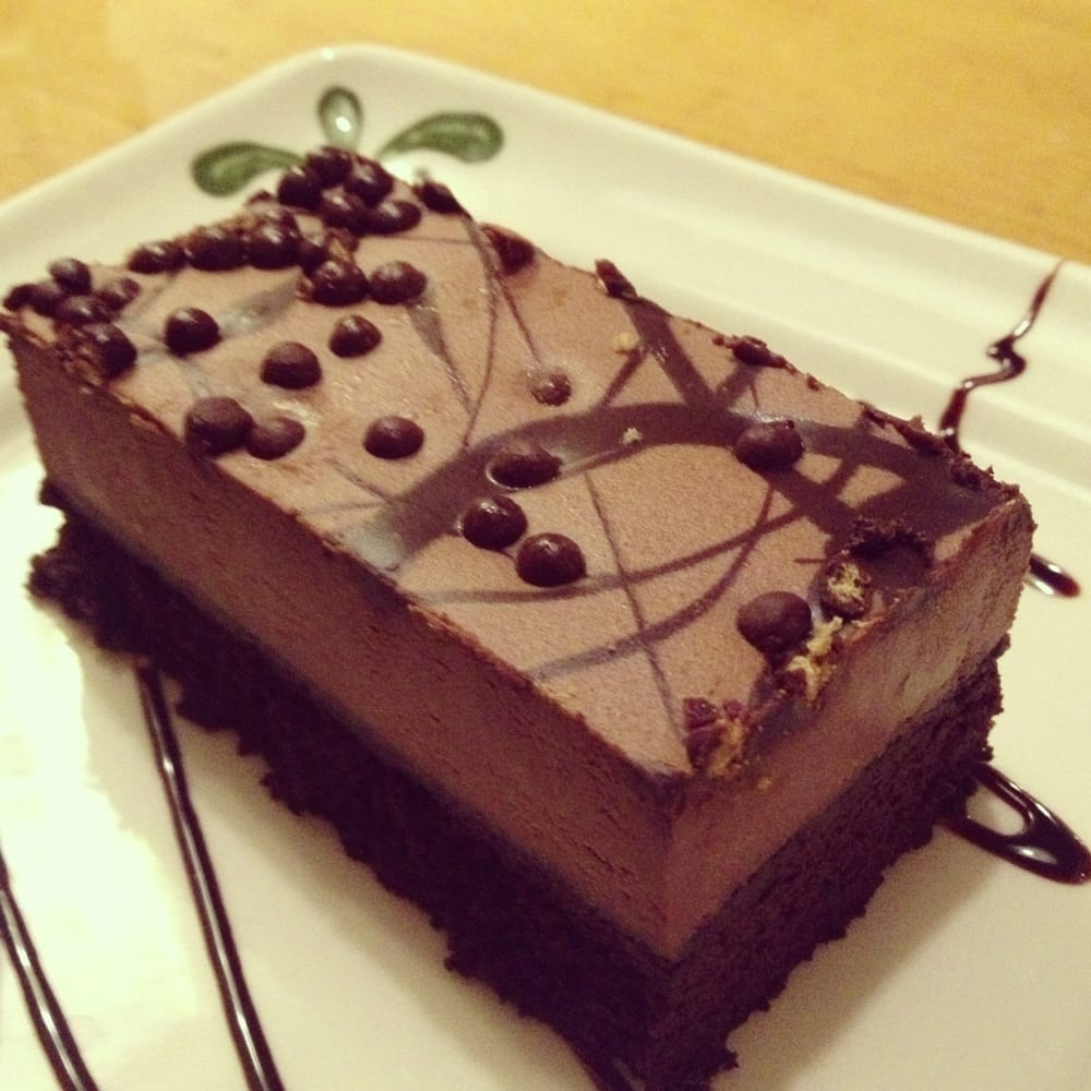 Amazing Chocolate Mousse Cake Olive Garden Festooning - Brown Nature ...