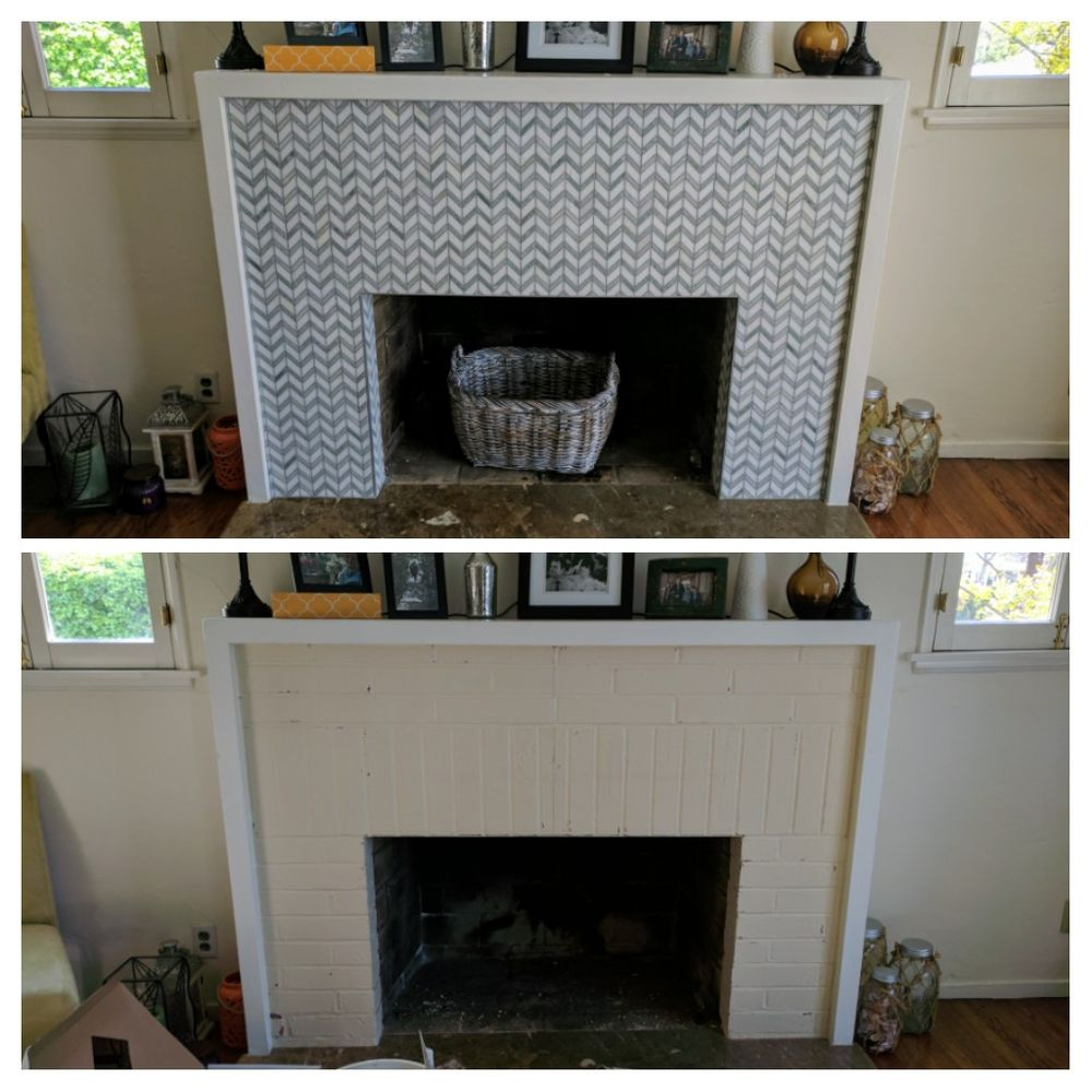 Photo Of United Tile Stone Los Angeles Ca States Fireplace