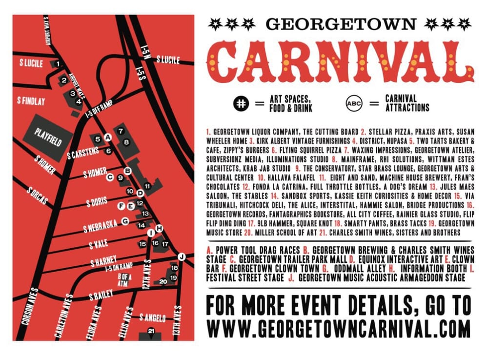 Georgetown Carnival Map Yelp