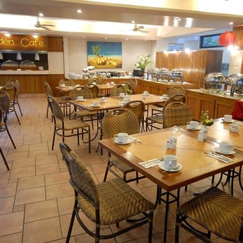 Photo Of Patio Pacific Hotel   Malay, Aklan, Philippines. The Garden Cafe  Where
