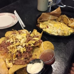 Photo Of Rooster S Bistro Northfield Ma United States Corned Beef Hash Nachos