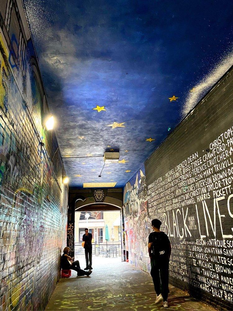 Graffiti Alley: 521 E Liberty St, Ann Arbor, MI