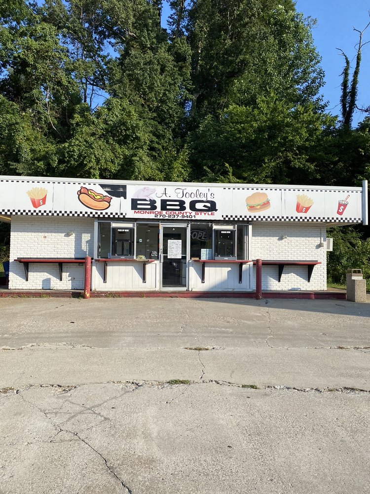 A Tooley's BBQ: 364 Old Gallatin Rd, Scottsville, KY