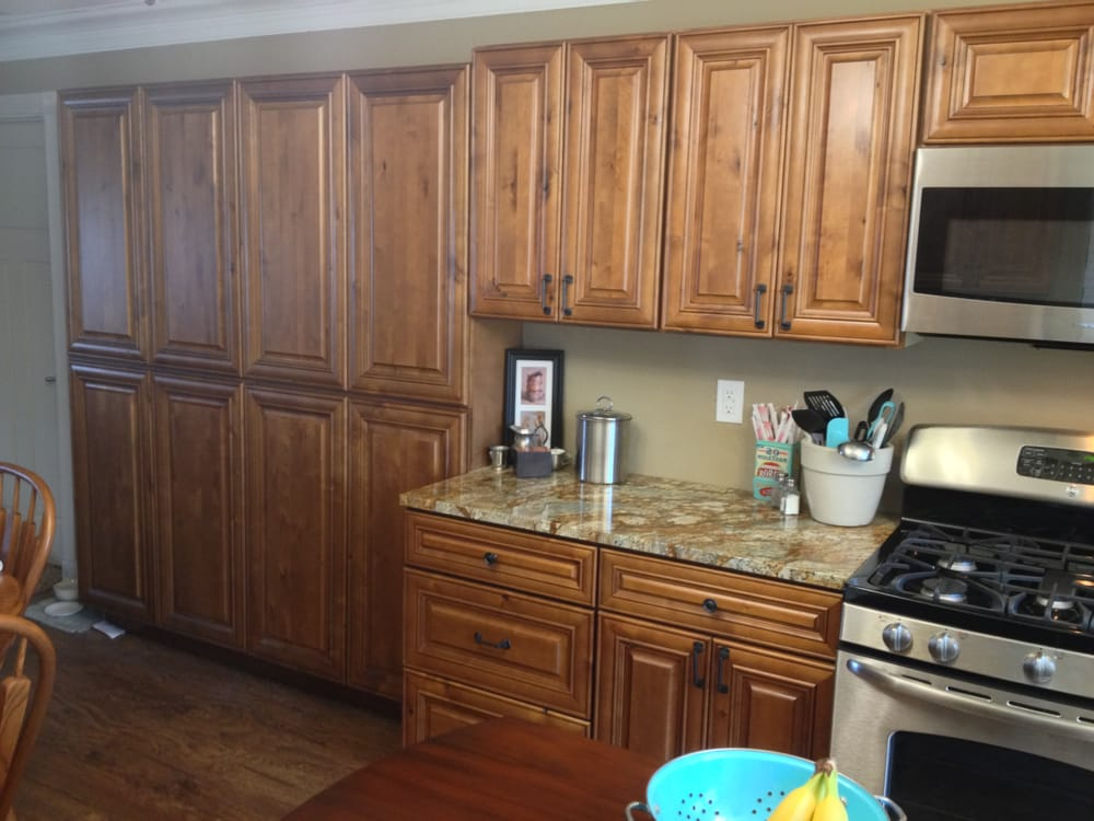 Knotty maple kitchen cabinets austin texas yelp for Austin kitchen cabinets