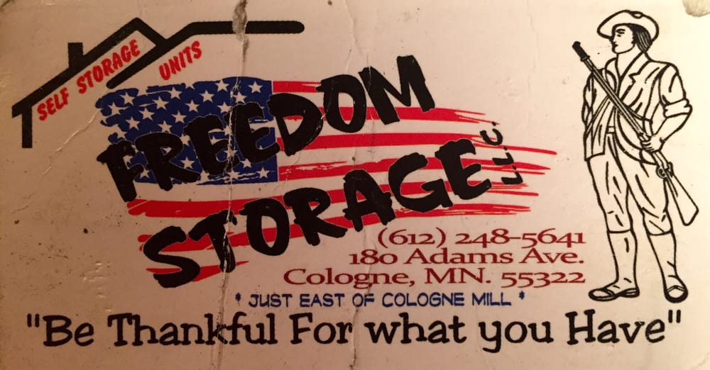 Freedom Storage: 180 Adams Ave S, Cologne, MN