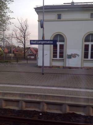 Bahnhof Bad Langensalza