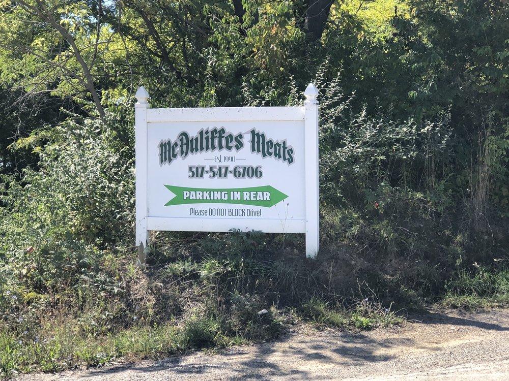 Mc Auliffe's Meats: 9578 Briggs Hwy, Addison, MI