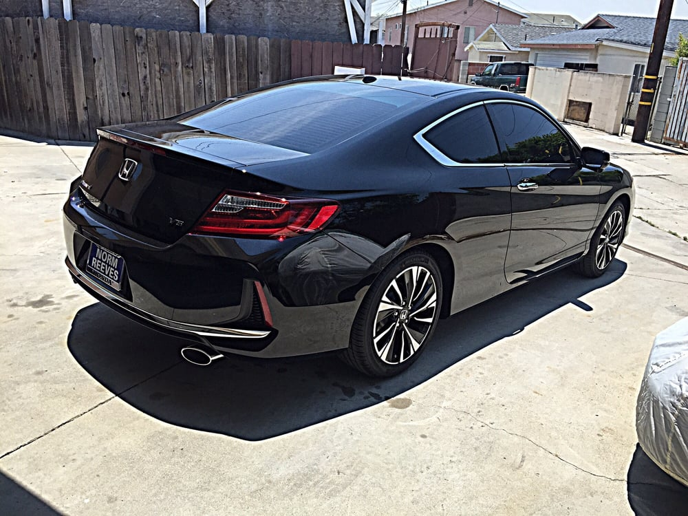 2016 honda accord coupe all around window tint yelp. Black Bedroom Furniture Sets. Home Design Ideas